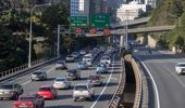 The $6.4 billion transport package includes mass transit and a second Mount Victoria tunnel. Photo / Mark Mitchell.