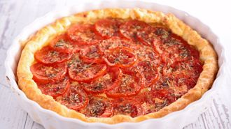 Nici Wickes: Tomato and mustard tart