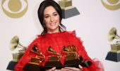 Kacey Musgraves won four Grammys earlier this year. (Photo / AP)