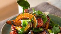 Mike van de Elzen: Buttercup salad with Kalamata honey