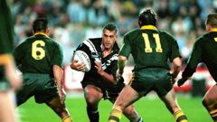 Quentin Pongia played more than 30 tests for the Kiwis. (Photo / Photosport)