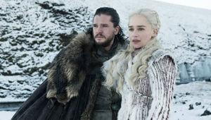 Will Jon Snow, left, or Daenerys Targaryen emerge victorious? (Photo / HBO)