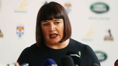 Rugby Australia CEO Raelene Castle speaks out over Israel Folau saga