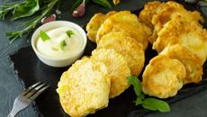 Mike van de Elzen: Cauliflower fritters