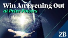 Win a magical evening out at Peter Powers!