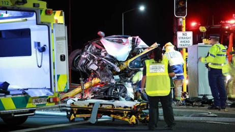 Police chase: Two teens in hospital after horrific crash