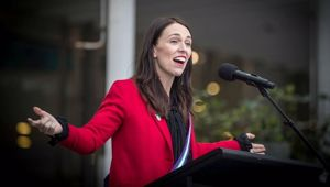 I think Ardern might just be a retail politician. I think she might like power, more than she likes changing the world. Photo / Mark Mitchell.
