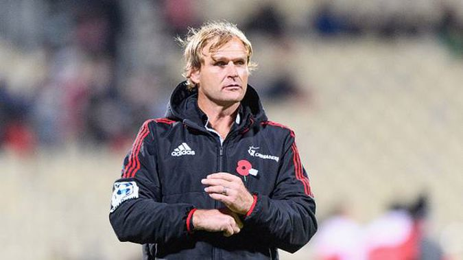Crusaders head Coach Scott Robertson has spoken out about the alleged incident. Photo / Getty