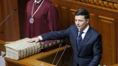 Ukraine's comedian President calls snap election moments after taking office