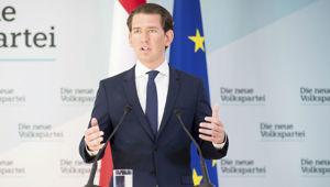 Sebastian Kurz has disbanded his coalition. (Photo / AP)