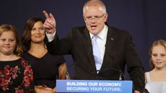 Scott Morrison's shock victory has seen many Aussies scrambling to cross the ditch. (Photo / AP)