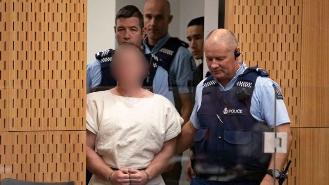 The accused gunman faces 51 charges of murder. (Photo / NZ Herald)