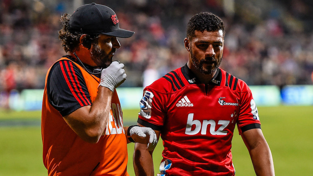 Richie Mo'unga is one of the Crusaders facing allegations over his behaviour. (Photo / Photosport)