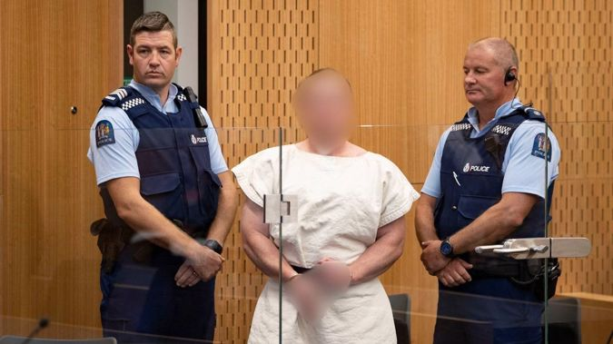 The accused gunman could use his new charges to promote his views, one law professor says. (Photo / NZ Herald)