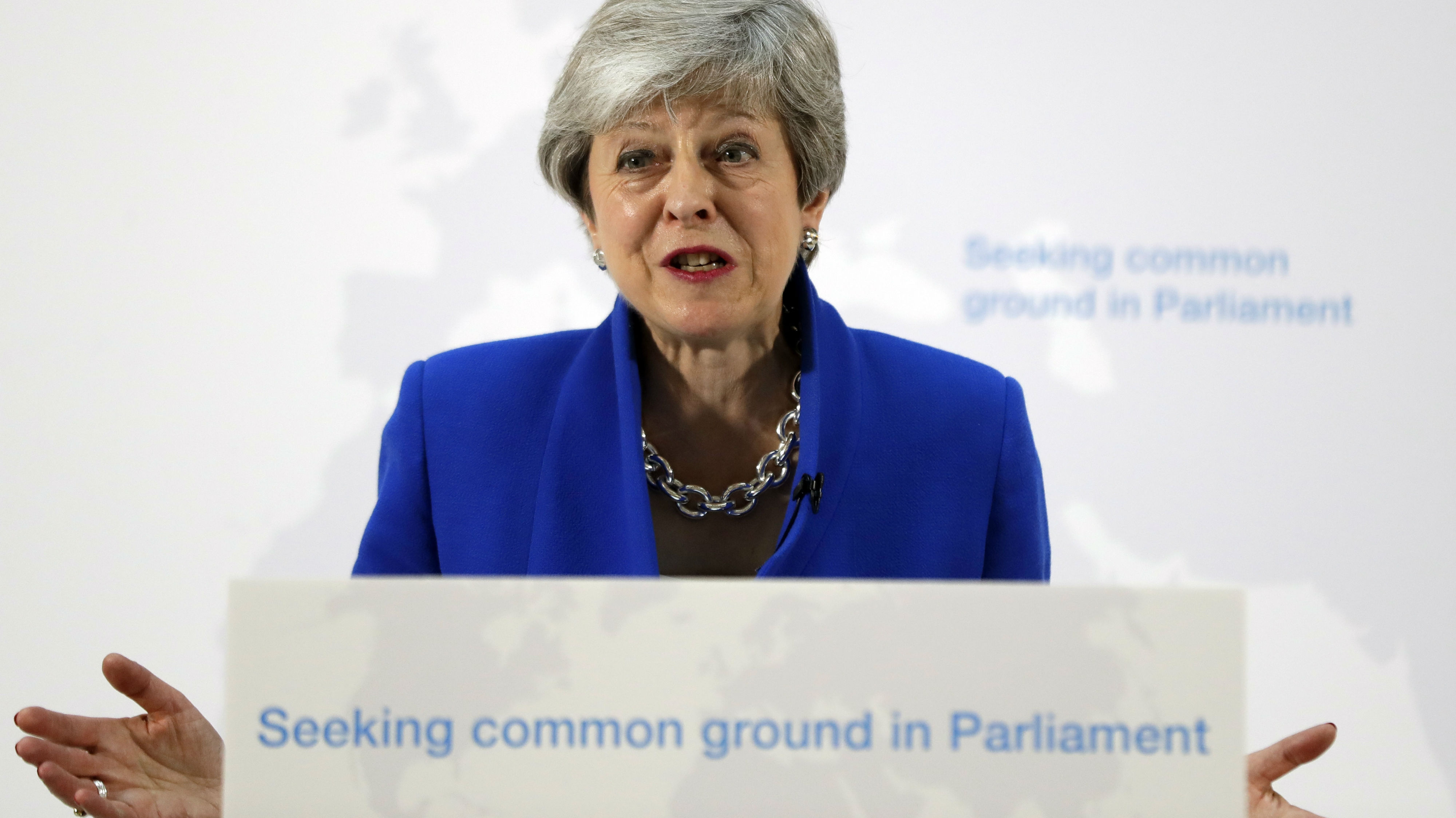 May hopes the offer will get MPs to back her deal. (Photo / AP)