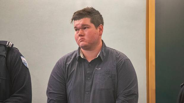 Fraser Milne, 21, admitted his racially motivated road rage attack. Photo / Peter Meecham