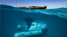Taxi app provides new window into Great Barrier Reef