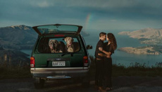 Kiwi wedding photographer's engagement photo makes for a winning shot