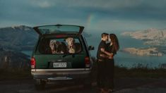 Kiwi wedding photographer's engagement photo makes for a winning shot