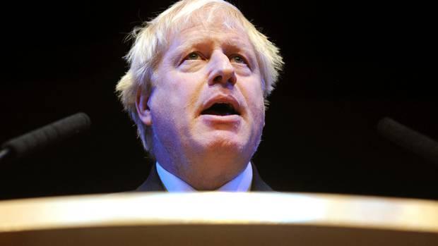 Boris Johnson. Photo / AP