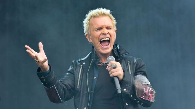Billy Idol is coming our way. Photo / Getty Images