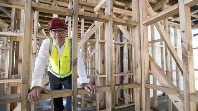 Housing Minister Phil Twyford said he expected 266 KiwiBuild houses to be completed by July 1. (Photo / NZ Herald)