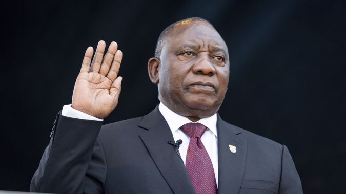 South Africa's president names Cabinet that is 50% women