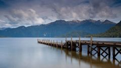 Lake Hauroko is a 30km-long, S-shaped lake in Fiordland National Park. Photo / Getty Images