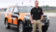 Motorsport icon and Holden Street Smart ambassador Greg Murphy says driver training and avoiding driver distractions were key focuses for road safety. Photo / Supplied