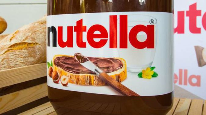 A Nutella factory strike has stalled production and could lead to worldwide shortage. Photo / Getty Images.