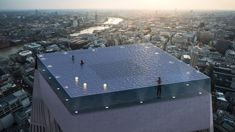London skyscraper hopes to have world first 360-degree infinity pool