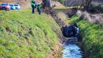 Five hospitalised after car rolls in Hastings