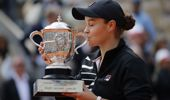 Ash Barty has ended Australia's long drought at the French Open. (Photo / AP)