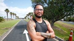 Sydney Heremaia said he was turned down for a job in March because of his tā moko. Photo / Michael Cunningham