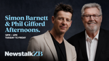 Simon Barnett and Phil Gifford Afternoons