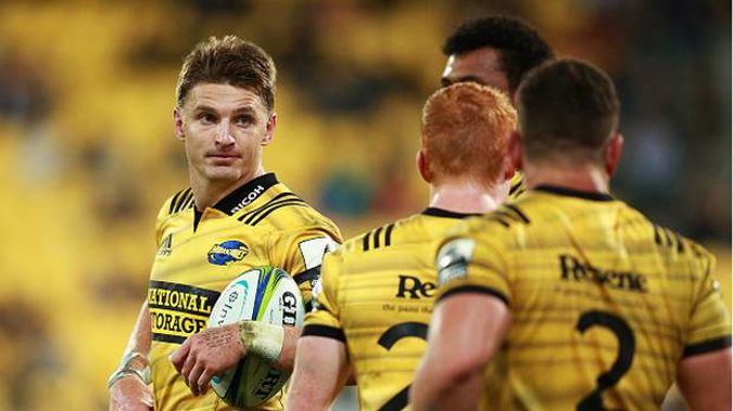 Beauden Barrett re-signed with New Zealand Rugby and the Hurricanes in 2016. (Photo / Photosport)