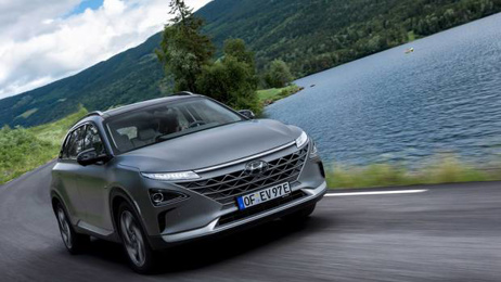 Hyundai unveils New Zealand's first hydrogen powered car