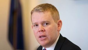 Hipkins says that fees-free rollout remains Labour Party policy. (Photo / NZ Herald)