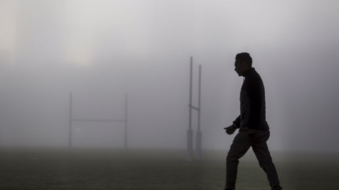 The fog covered Auckland this morning. (Photo / NZ Herald)