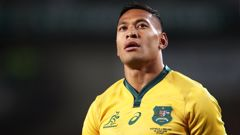Israel Folau could have a new sporting home. (Photo / Getty)