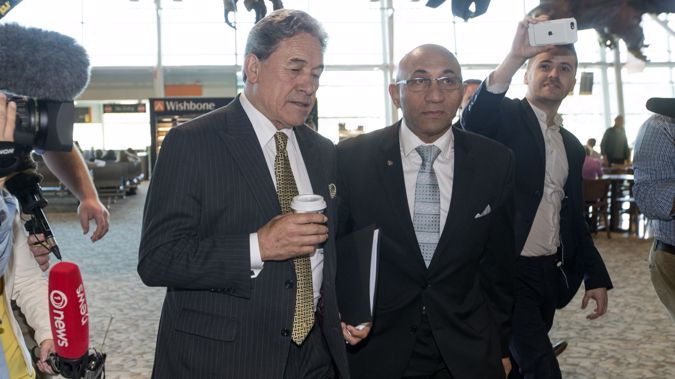 John Minto says there has been a policy shift under Winston Peters and Ron Mark. (Photo / NZ Herald)