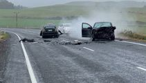 One dead in multi-car crash near Waiouru
