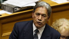 Winston Peters kicked out of Parliament over clash with Trevor Mallard