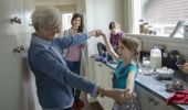 Inter-generational living is on the rise in New Zealand. (Photo / Getty)