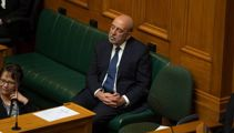 Barry Soper: Awkward farewell for under-fire Treasury Secretary