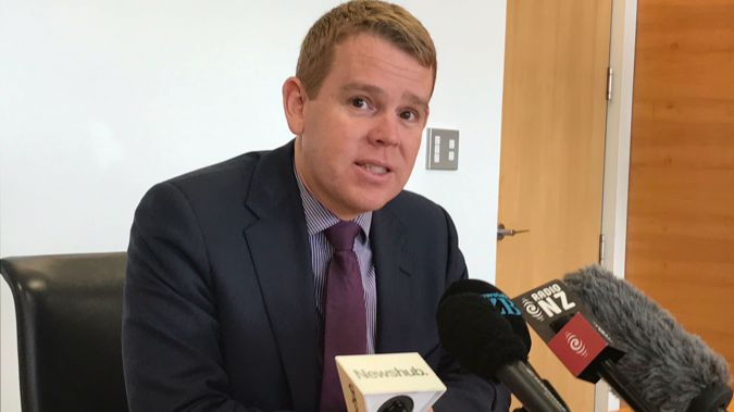 Chris Hipkins made the announcement today. (Photo / NZ Herald)