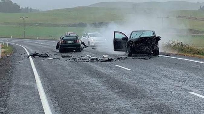 One child died in yesterday's crash in Waiouru. (Photo / Supplied)