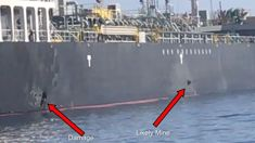 Dan Mitchinson: US says Iran removed unexploded mine from oil tanker