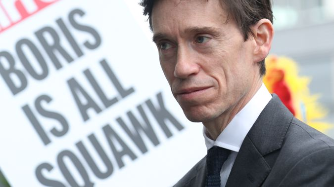 Rory Stewart is one of the six remaining candidates vying for the Conservative leadership - and the Prime Ministership. (Photo / AP)