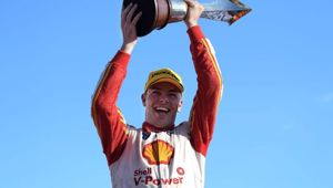 Kiwi driver Scott McLaughlin releases new book 'Road to Redemption'